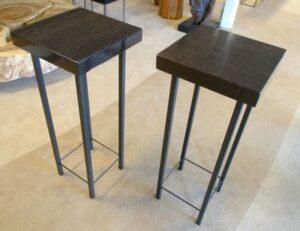 Table basse bois pétrifié 0686