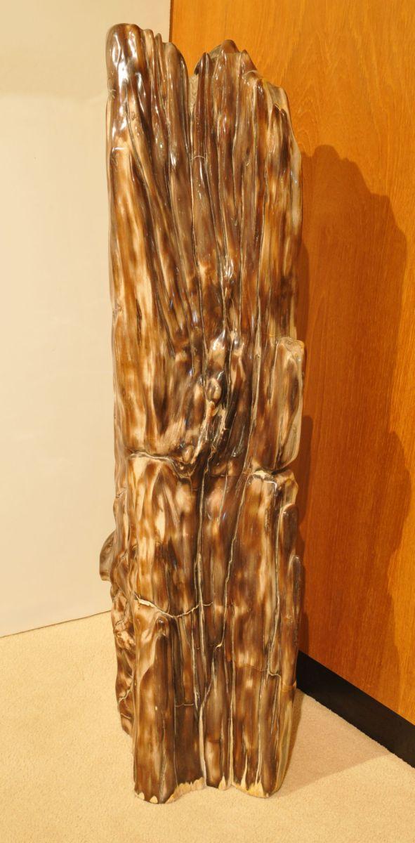 Sculpture bois pétrifié 21245