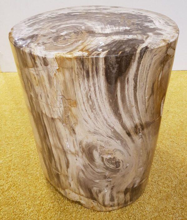 Table d'appoint bois pétrifié 27508