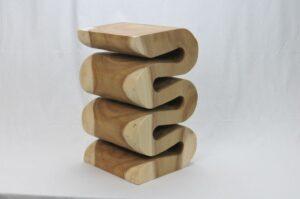 Holzhocker Modell 6