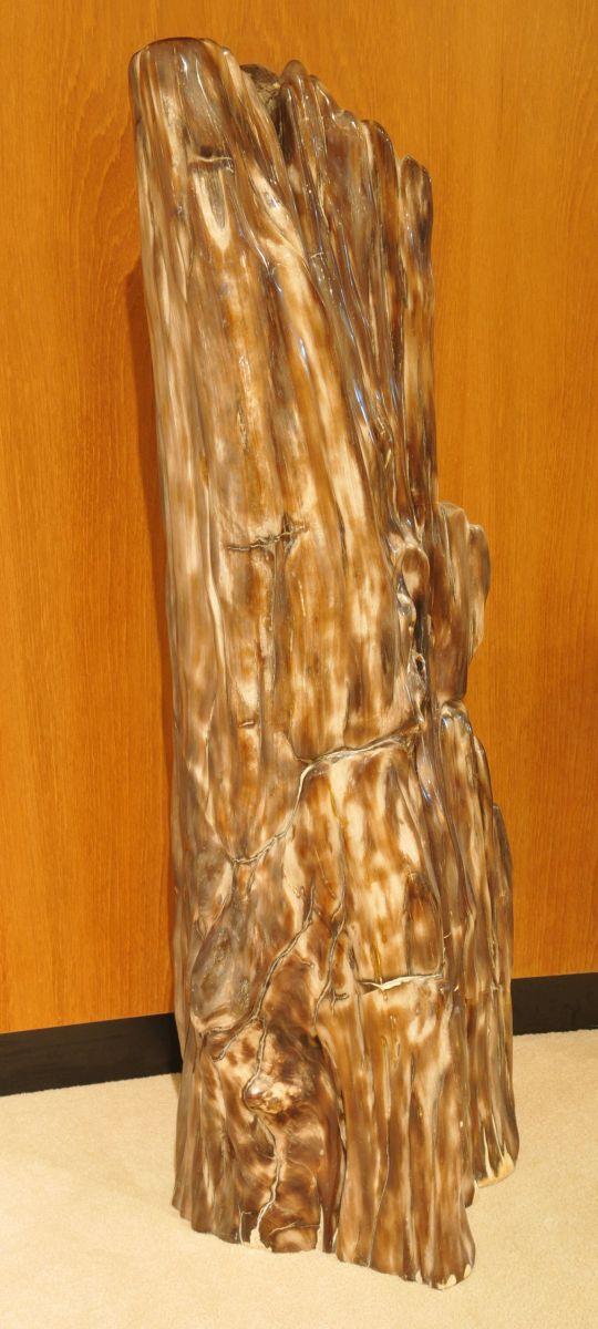 Escultura madera petrificada 21245