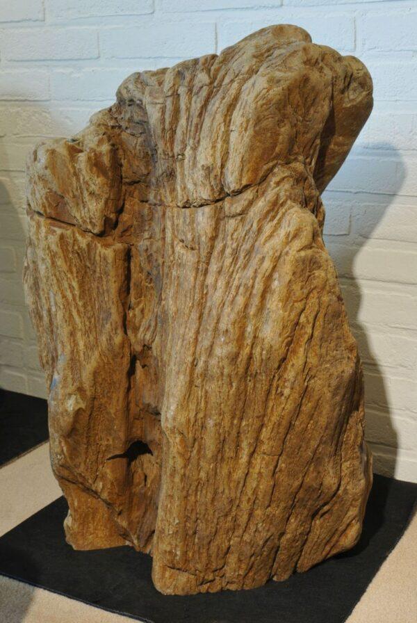 Lápida madera petrificada 19078