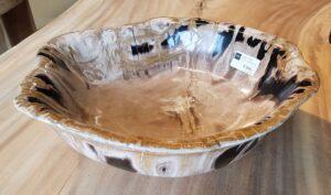 Bol madera petrificada 27550