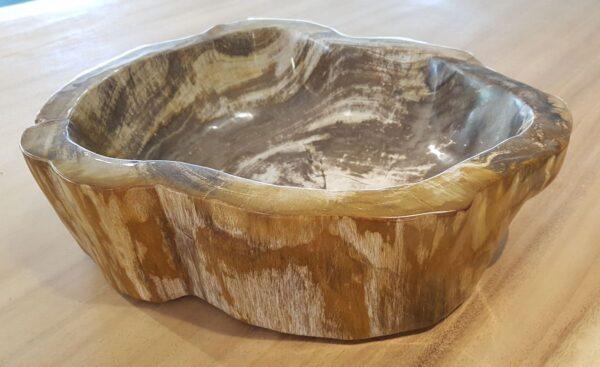 Bol madera petrificada 28049
