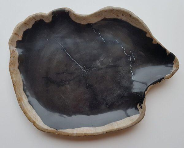 Plato madera petrificada 28093