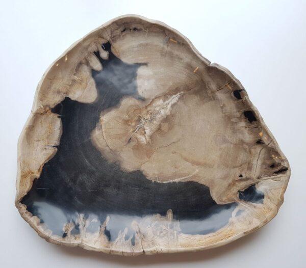 Plato madera petrificada 28228