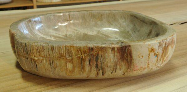 Ciotola legno pietrificato 14026