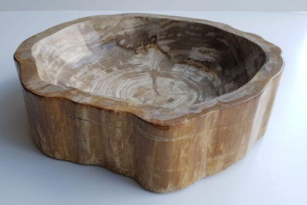 Ciotola legno pietrificato 28046