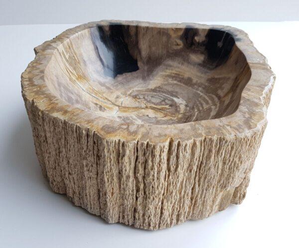Ciotola legno pietrificato 28740