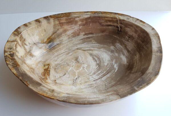 Ciotola legno pietrificato 29050