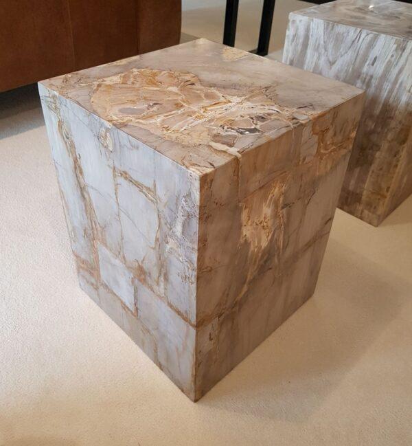Tavoli laterali legno pietrificato 28011