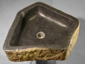 Wash hand basin petrified wood 1976