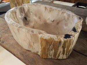 Lavabi legno pietrificato 31221