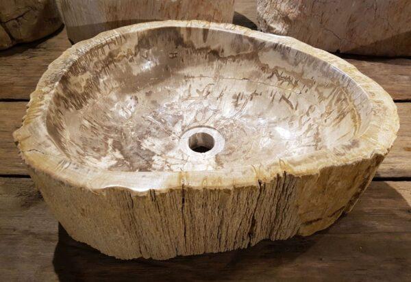 Wash hand basin petrified wood 31223