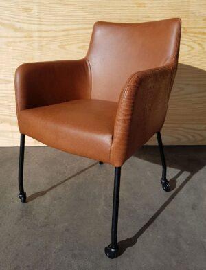 Chaise de salle à manger Binar skatewiel