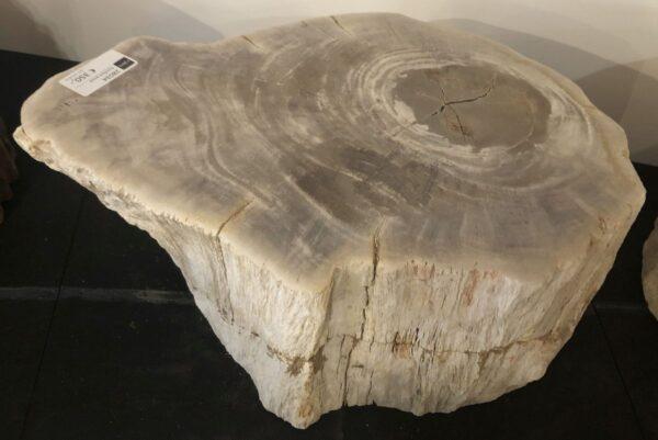 Bijzettafel versteend hout 28034