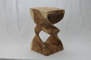 Wooden stool model 4