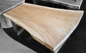 Tree slab table suar 15505