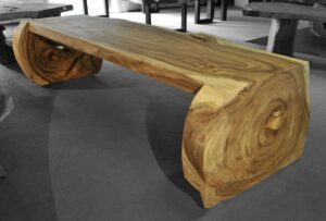 Tree slab table suar 16535
