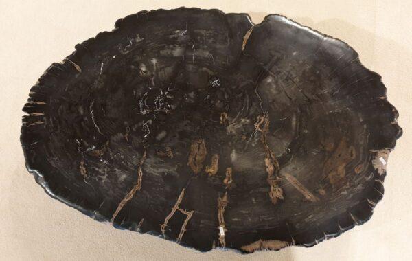 Couchtisch versteinertes Holz 32174