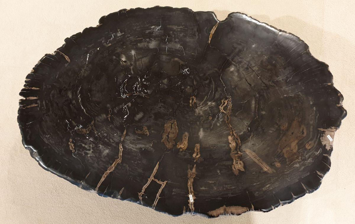 Mesa de centro madera petrificada 32174