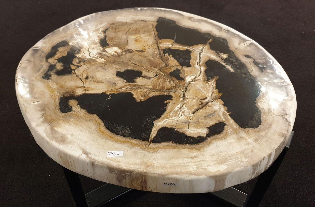 Mesa de centro madera petrificada 32425