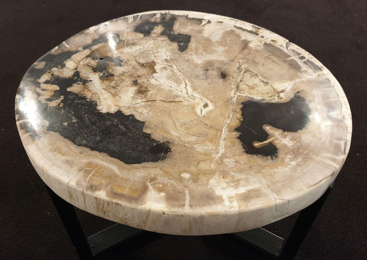 Mesa de centro madera petrificada 32429