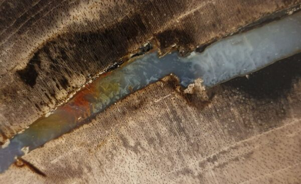 Salontafel versteend hout 32330