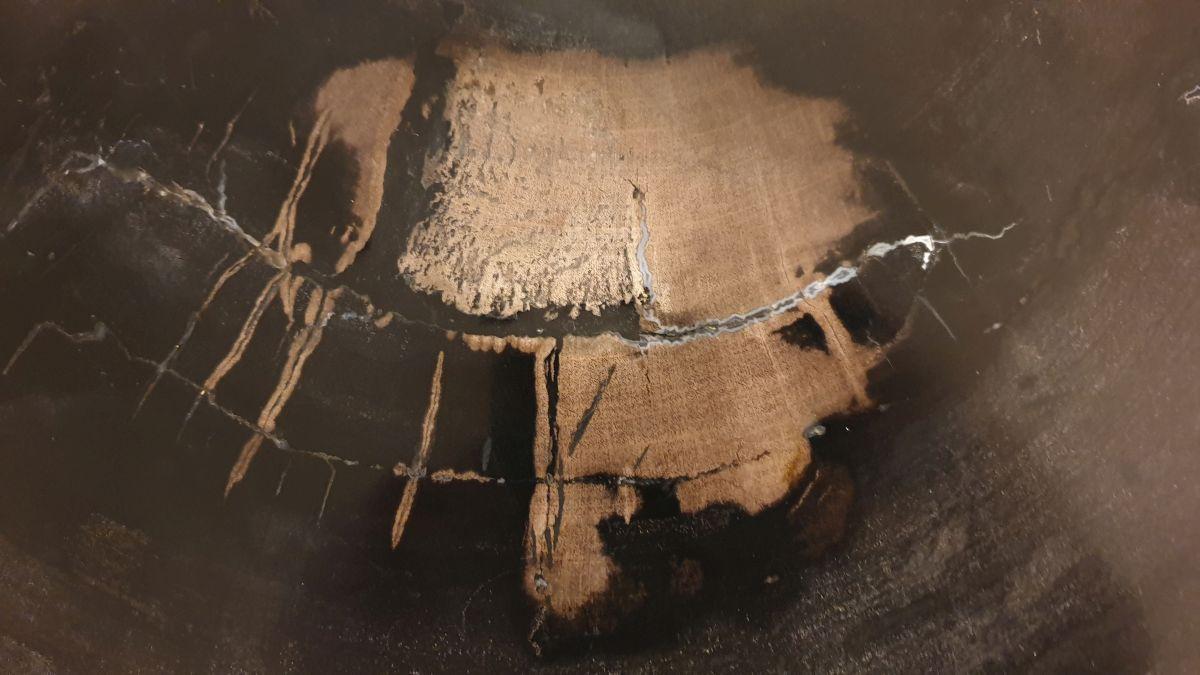 Salontafel versteend hout 32340