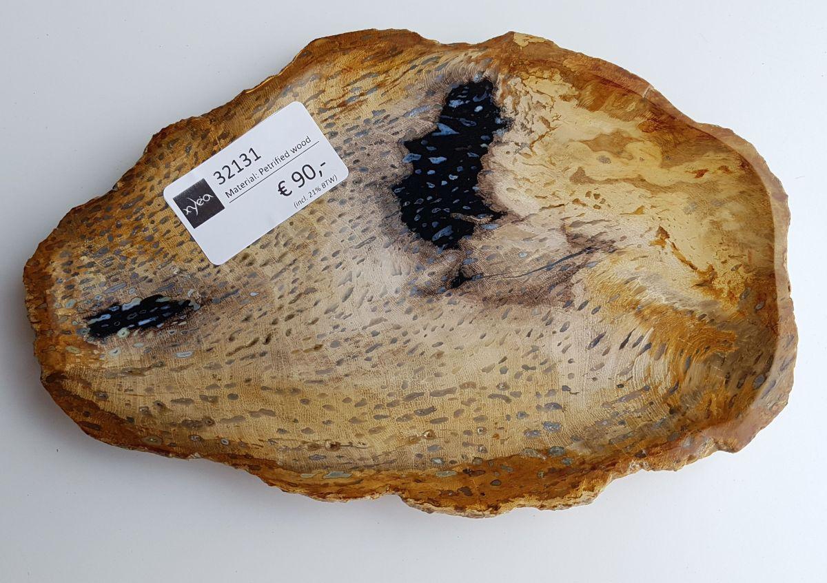 Teller versteinertes Holz 32131