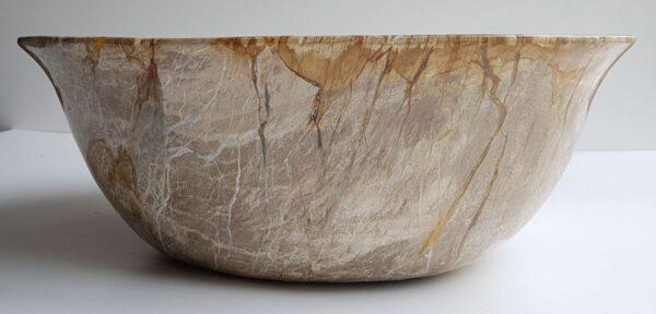 Bol madera petrificada 30043