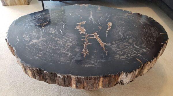 Mesa de centro madera petrificada 30249