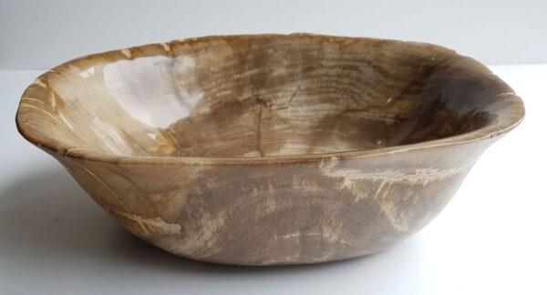 Bowl petrified wood 28068