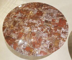 Salontafel versteend hout 28579
