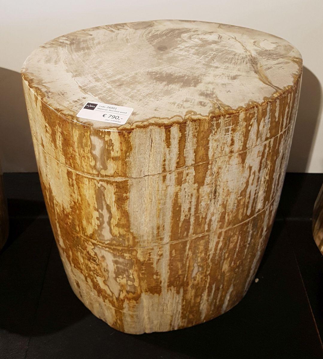 Side table petrified wood 26001