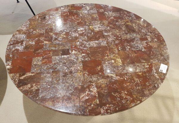 Table basse bois pétrifié 28579