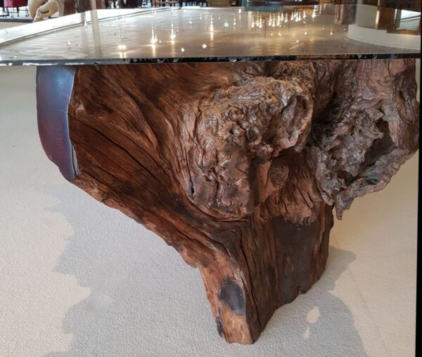Mesa de tronco 12726
