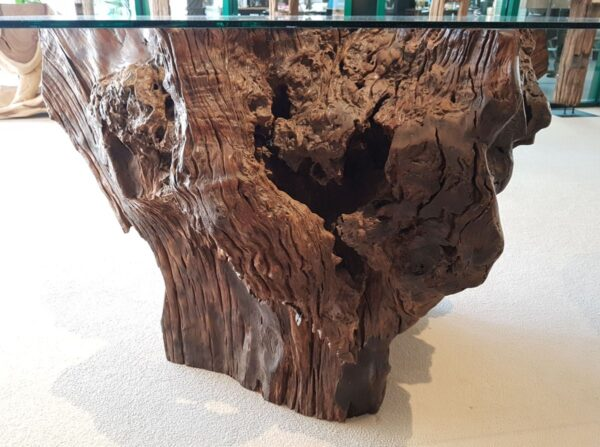 Tree trunk table 12726
