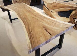 Tree slab table suar 23501