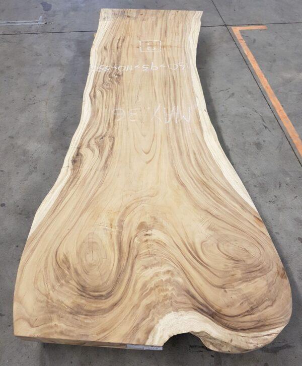 Tree slab table suar 24533