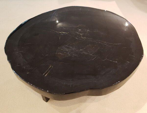 Couchtisch versteinertes Holz 26228