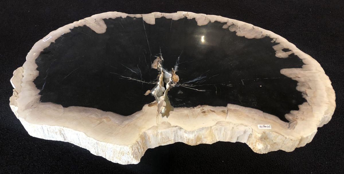 Mesa de centro madera petrificada 33165