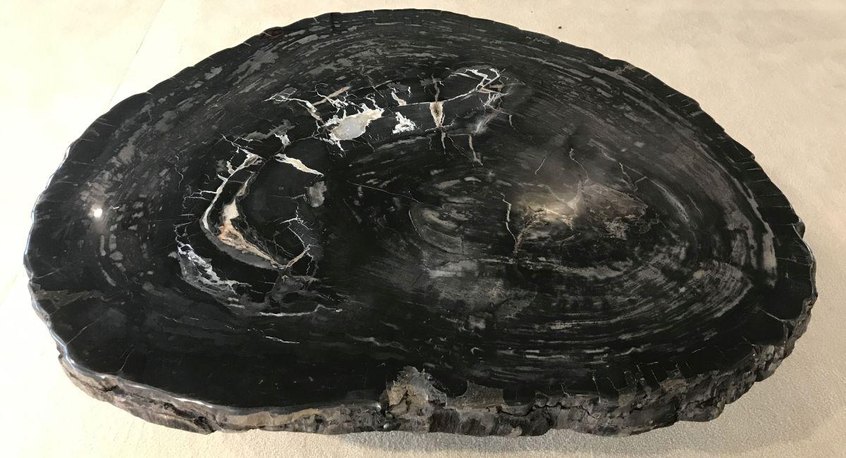 Mesa de centro madera petrificada 33209