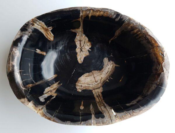 Bowl petrified wood 33062