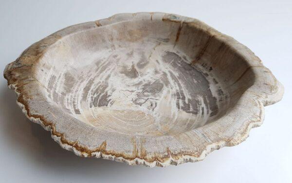 Bowl petrified wood 33306