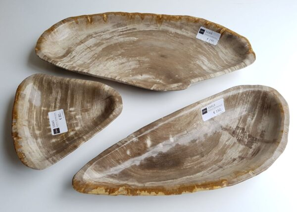 Bowl petrified wood 33309