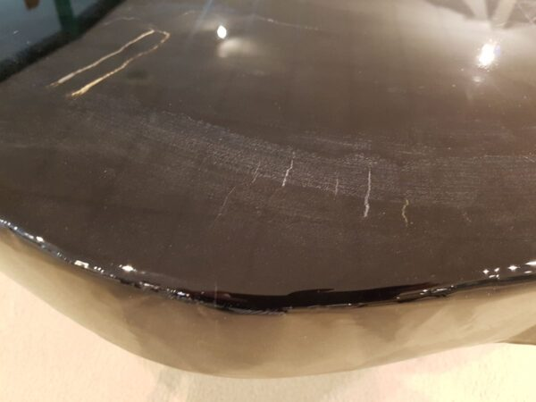 Table basse bois pétrifié 26228