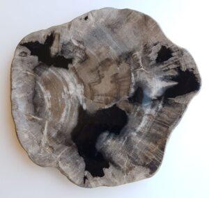 Teller versteinertes Holz 33049b