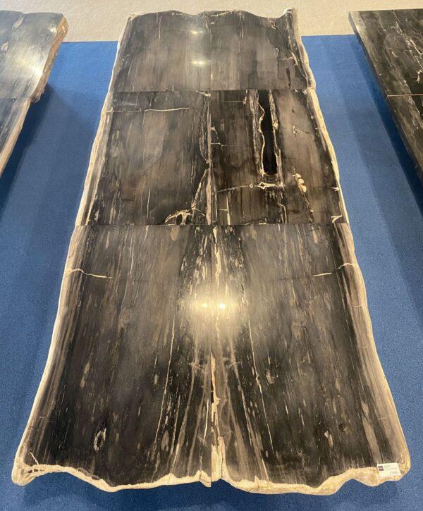 Table en bois pétrifié 33247