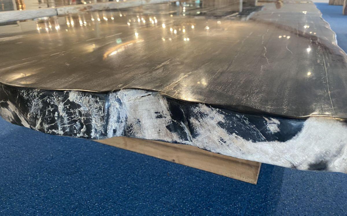 Table en bois pétrifié 33250
